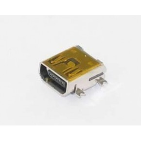 Mini USB Connector, AB Type for SMT Tin Plated