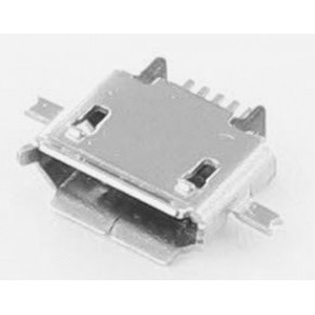 Micro USB Receptacle, Middle Board Mount