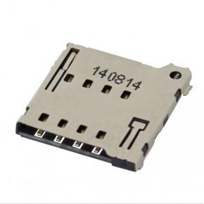 115Q Series-Micro SIM Card Socket-Push-Push Type