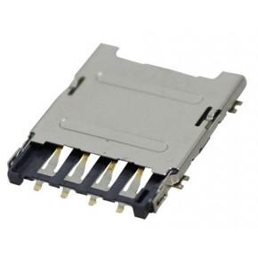Micro SIM Card Socket,Hinge Type
