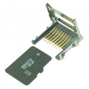 Micro SD Socket Hinge Type