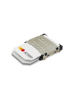 SIM Card Socket Dual Port Push-Pull Type