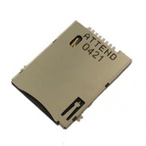 SIM Card Socket Push-Push Type 8+2 Pin