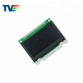 2.7 inch 128x64 Monochrome OLED Display with PCB Controller Board Module-TVO12864M1-Y-PCB