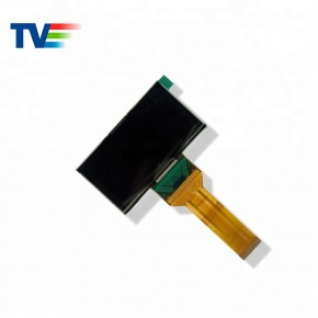 2.7 inch 128x64 Small Monochrome OLED Micro Display PMOLED for Meters Industial- TVO12864D-Y