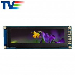 Standard 3.12 Inch 256x64 Monochrome OLED Display with PCB medical- TVO0312A-PCB